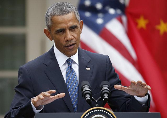 奥巴马:美国欢迎中国的和平崛起