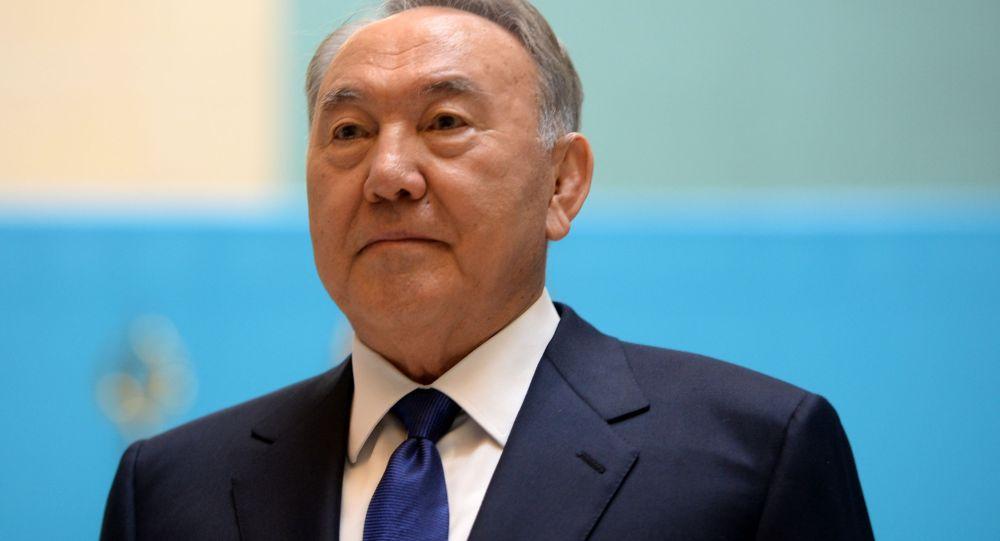 哈萨克斯坦总统努尔苏丹•纳扎尔巴耶夫