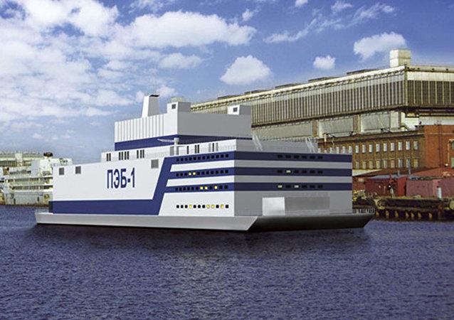 俄中將為共同建設漂浮核電站成立合資企業