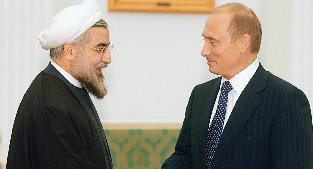 俄羅斯與伊朗兩國總統討論敘利亞局勢