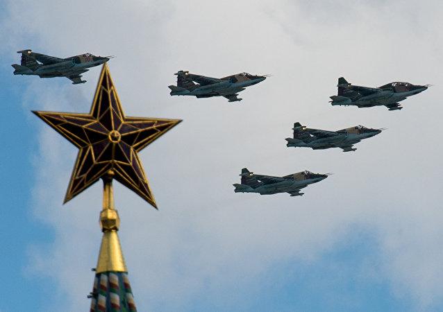 媒體:加強後蘇-25SM3強擊機近期將開始檢測