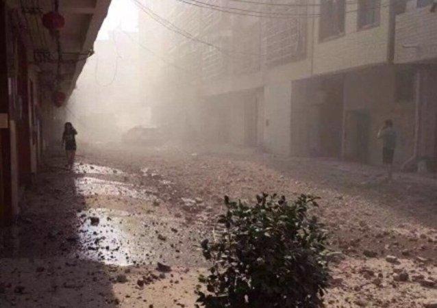 香港媒體:廣西柳城縣早上再有爆炸