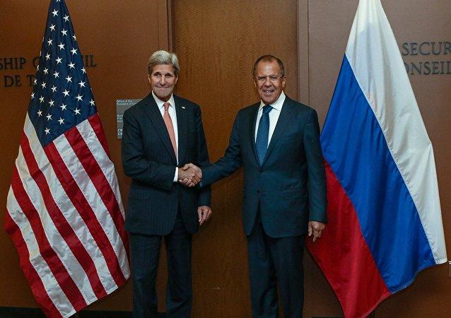 俄美外長共商安理會對朝制裁決議制定及明斯克協議執行情況