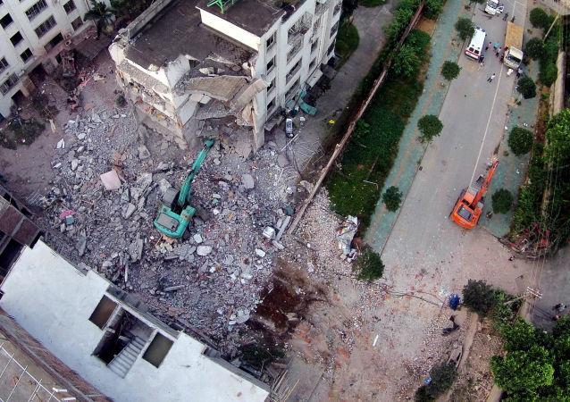 媒體:廣西爆炸案告破 嫌犯死亡