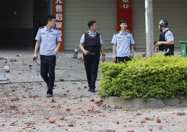 柳城縣爆炸嫌疑人被捕