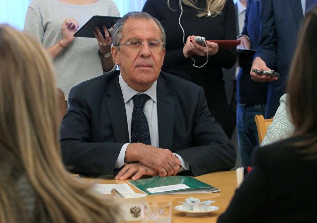 俄羅斯外交部長謝爾蓋•拉夫羅夫