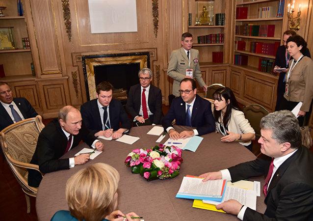 「諾曼底四國」領導人將自2月12日起進行首次會面