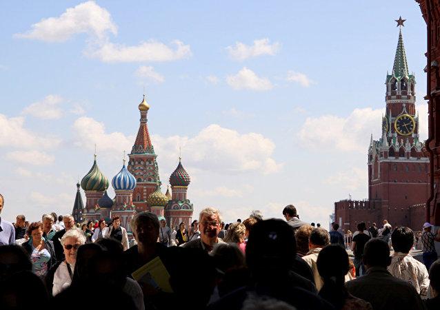 亚洲游客对俄罗斯趋之若鹜