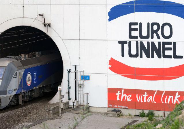 难民事件后英吉利海峡隧道恢复通行