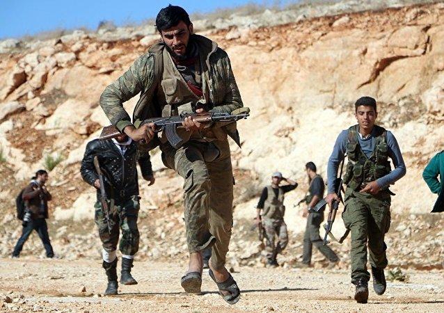 恐怖分子在敘利亞
