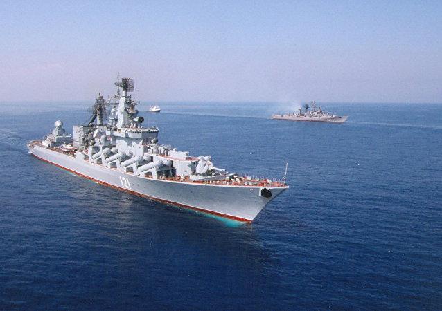 俄海军上将:黑海舰队可用于在叙利亚封锁海岸