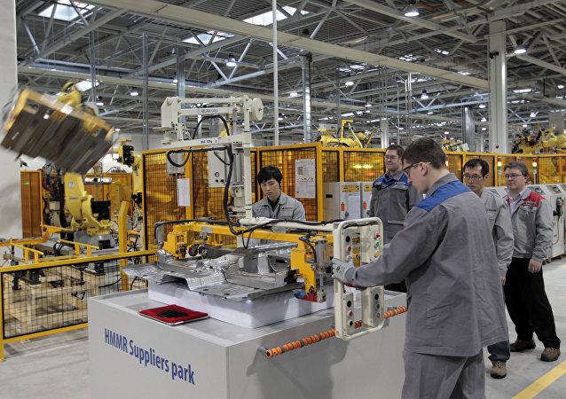 韓國工業園區在俄羅斯/資料圖片/