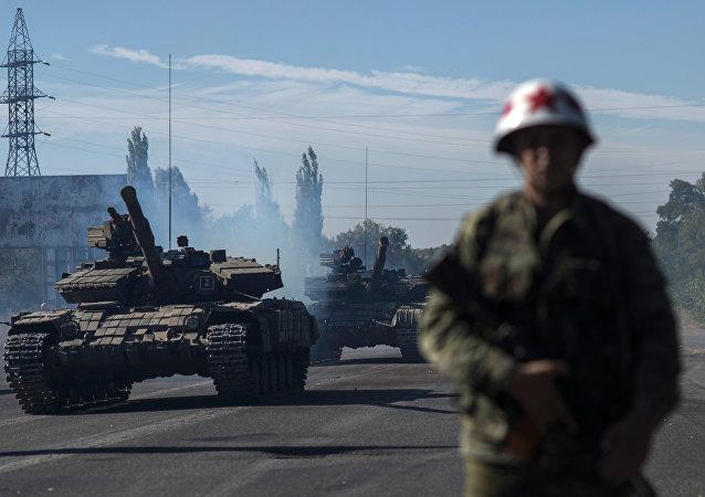 卢甘斯克表示乌方上一昼夜8次破坏停火状态