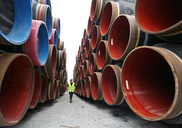 """美国反对""""北溪-2""""号天然气管道的决议是不正当竞争"""