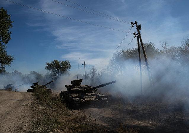 烏克蘭軍方計劃10月20日開始落實頓巴斯撤出武器第二階段