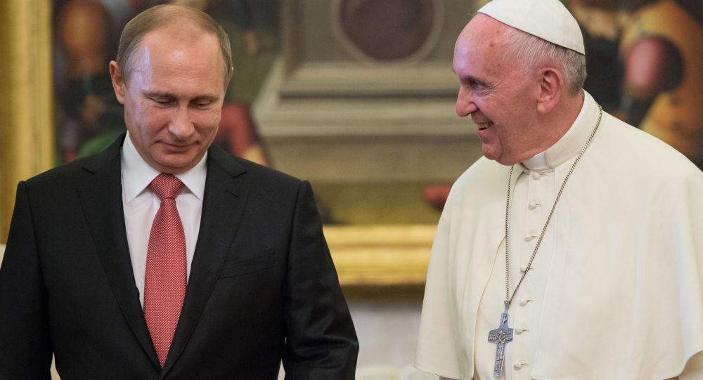普京转述罗马教皇的教言