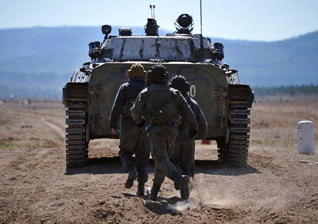 俄陆军2016年将与集安组织和上合组织举行七次联合军演