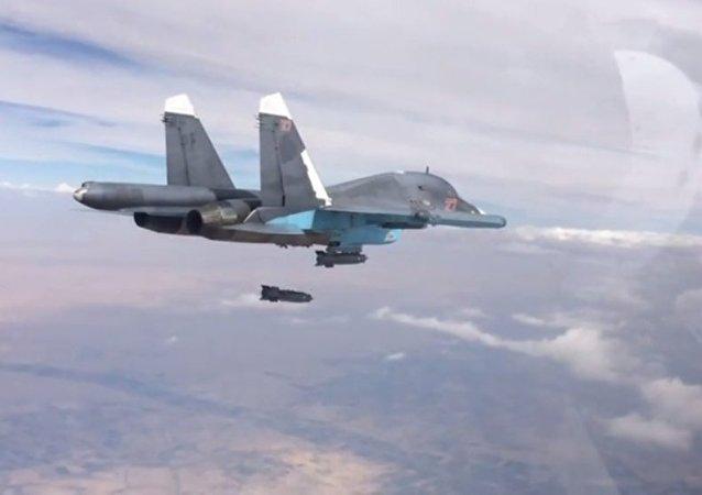 """""""伊斯兰国""""武装分子在俄军的打击下受到损失并改变战术"""