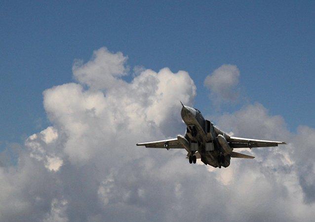 俄国防部:俄飞机一昼夜在叙飞行64次打击恐怖分子55个设施