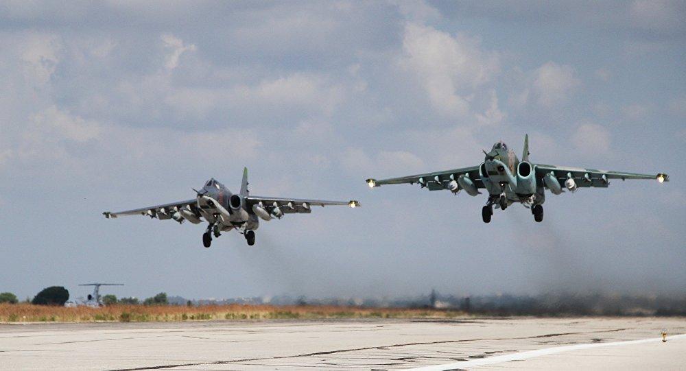 俄战机在叙利亚完成55架次战斗飞行并对53处设施进行打击