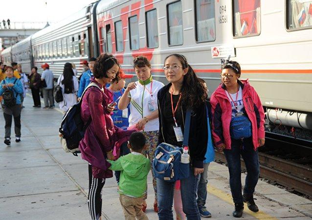 中国游客很快将有机会享受到俄罗斯列车特色之旅