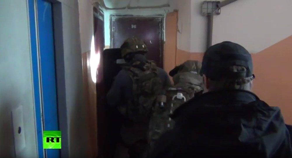 俄联邦安全局:试图用于实施恐怖袭击的炸弹从车臣用火车运至莫斯科