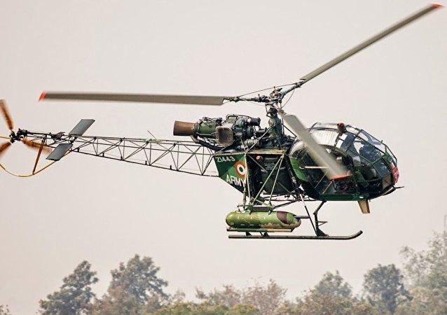 印度將宣佈招標項目為空軍聯合製造輕型直升機