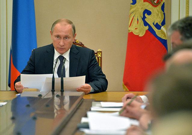 普京:俄罗斯已度过经济危机高峰期