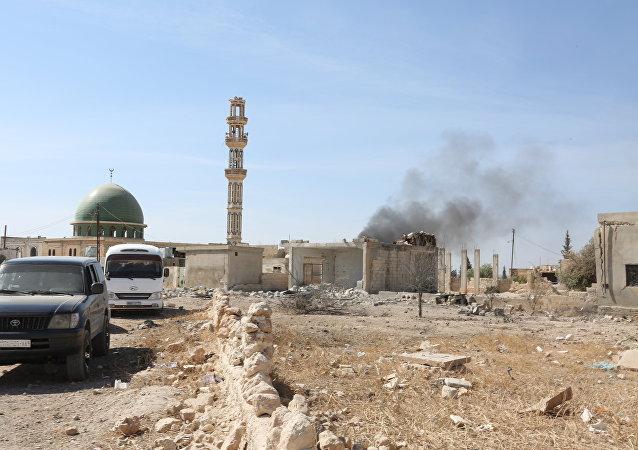 俄外交部:美英向叙反对派提供的丰田越野车落入伊斯兰国组织手中