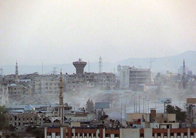 《洛杉矶时报》: 俄罗斯的帮助使得大马士革居民恢复对未来的信心
