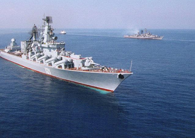 俄黑海艦隊:俄地中海分艦隊艦艇數量增加到15艘