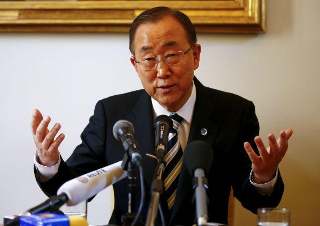 潘基文呼吁叙利亚国际支持小组确定日内瓦和谈反对派名单