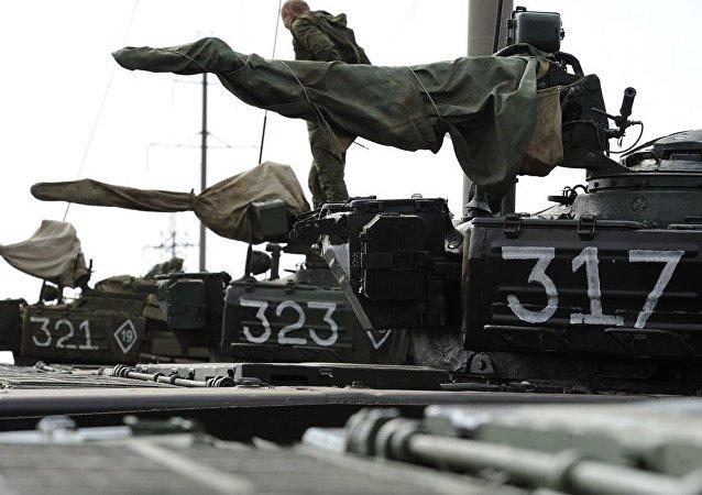 頓涅茨克共和國開始後撤口徑小於100毫米武器