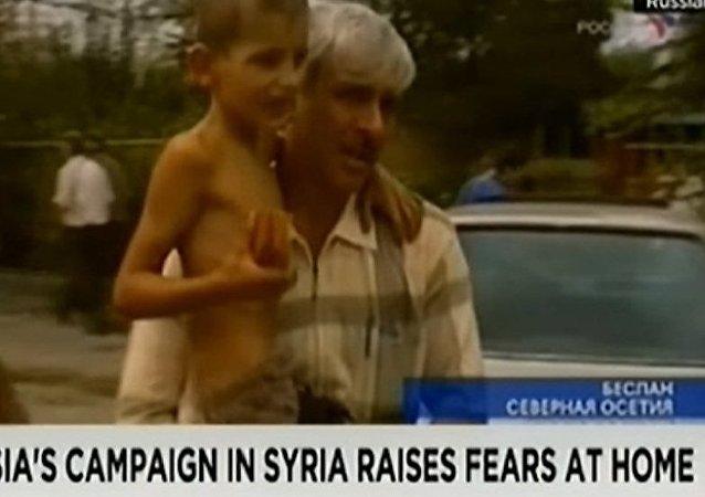 CNN为别斯兰和莫斯科人质事件开脱