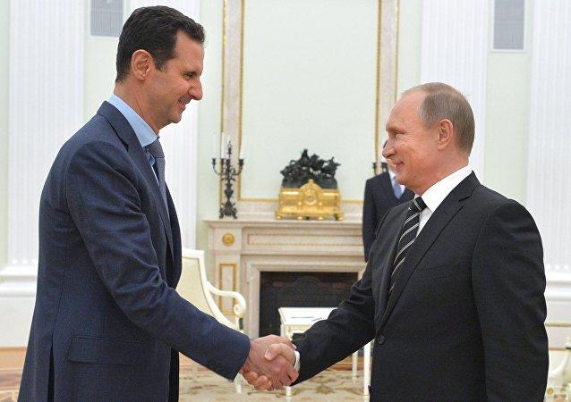 专家:普京与阿萨德会面后俄在解决叙危机方面的作用将加强