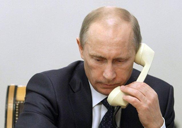 普京就阿勒颇被从武装分子手中解放向阿萨德打电话表示祝贺