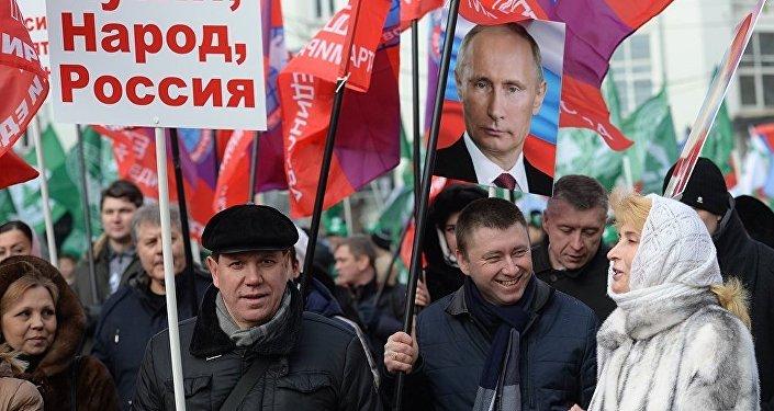 民調:大多數俄羅斯人認為本國在同美國關係方面應果斷行事