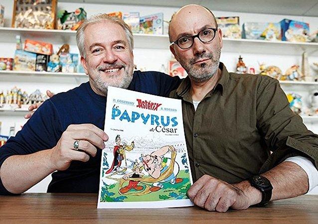 阿桑奇成为《高卢英雄传》漫画人物原型