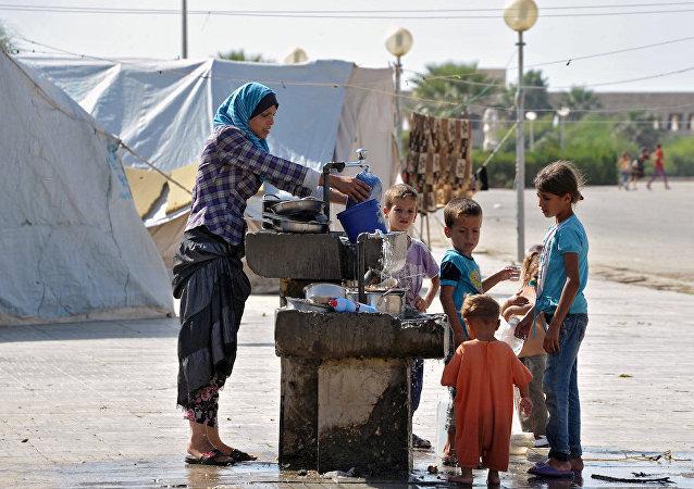 俄方将医治为恐怖分子所伤的叙利亚儿童