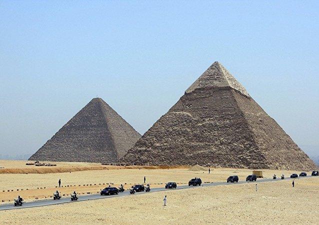古埃及的金字塔