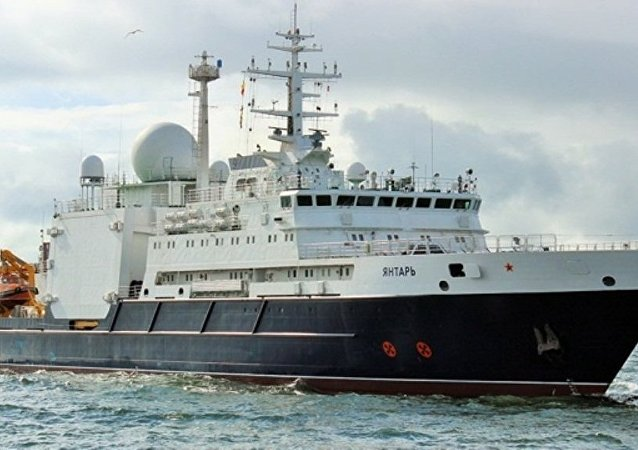 「琥珀」號海洋考察船