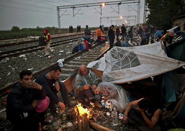 東歐國家民眾反對接收難民
