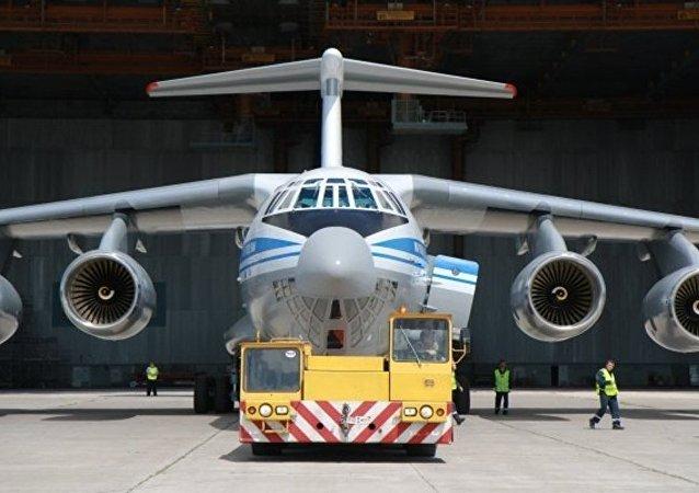 伊留申集团总设计师:第五架制造完成的伊尔-76MD-90A军用运输机交付使用