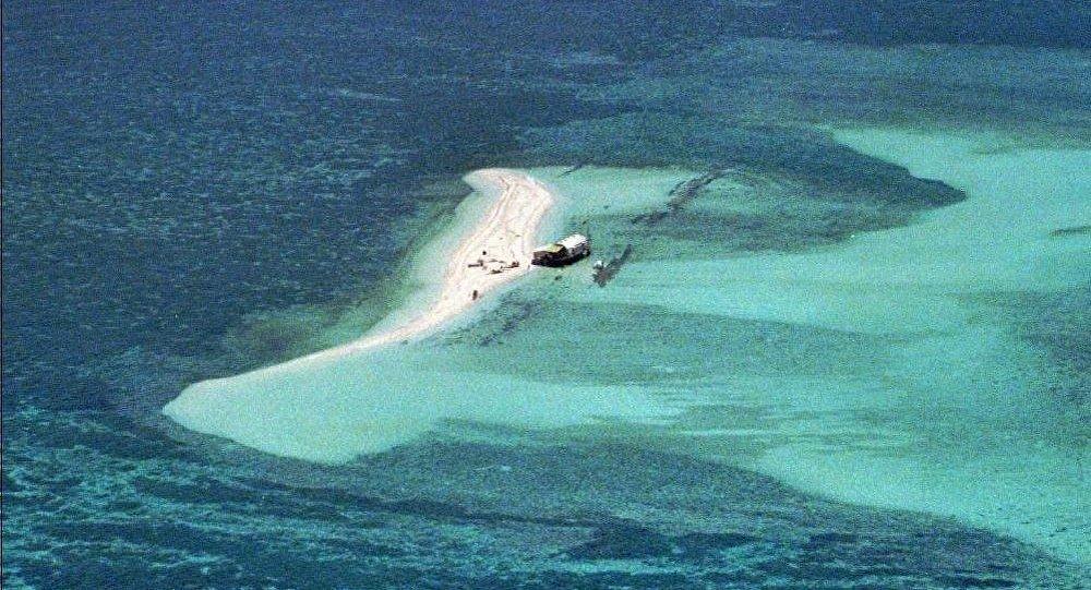 美国挑战中国南海主权