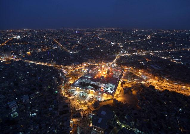 伊拉克首都巴格達市