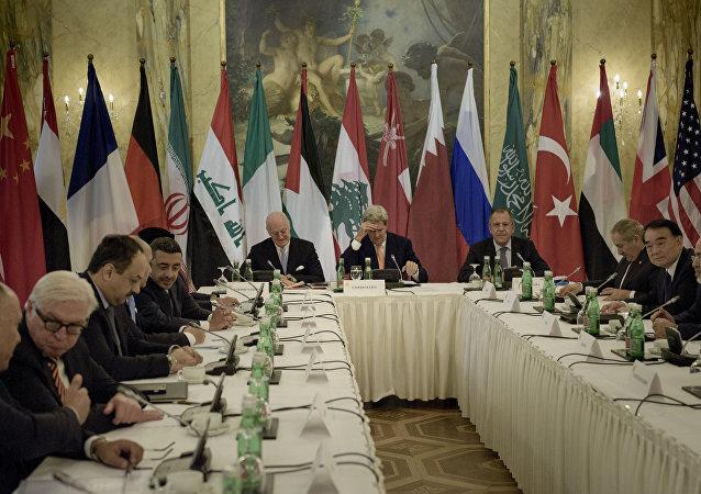 叙利亚问题部长级扩大会议在维也纳召开