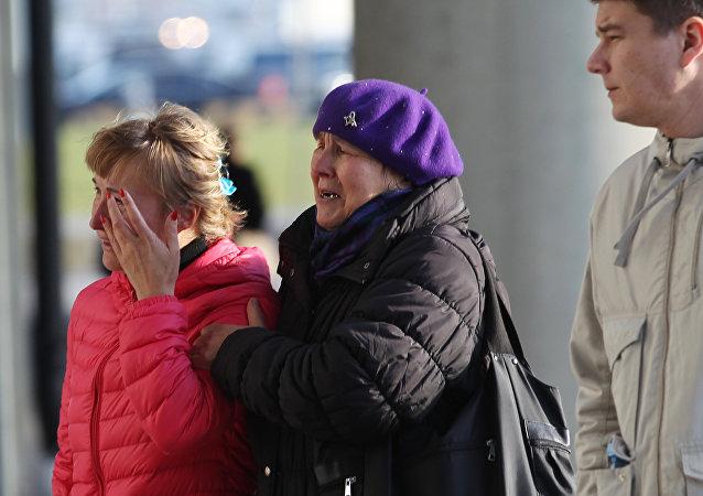 媒体:在埃及俄客机失事地点发现17名儿童遗体
