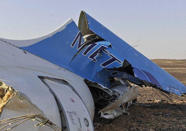 俄罗斯客机在埃及失事