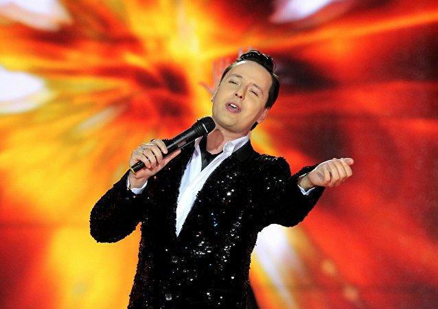 俄歌手維塔斯中國巡演首場演出獲巨大成功