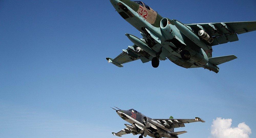 俄军苏-25